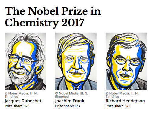 The Nobel Prize in Chemistry 2017